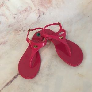 NWOB Cole Haan Jelly Thong Sandals in Pink